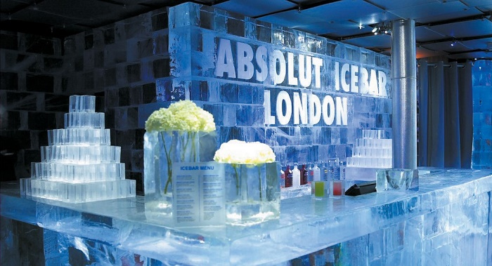 Ice bar london