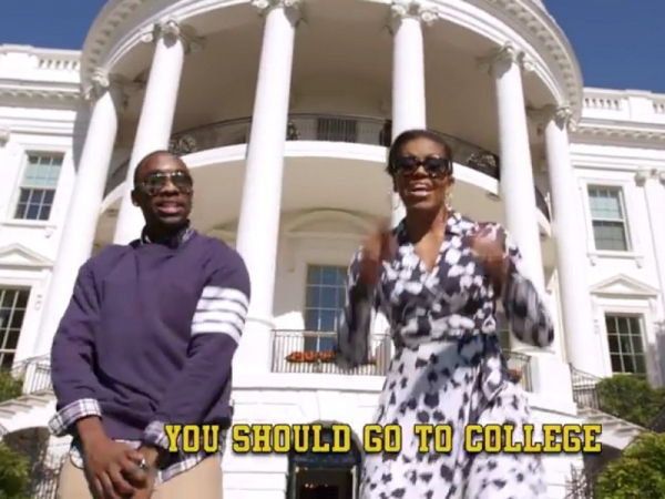 Flotus Rap Game On Point – Kids Better Go To College